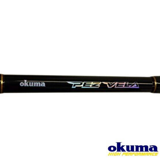 Caña Okuma Pez Vela Casting Carbon 2.10 mts 1T 15 - 30 lbs 4