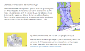 "Echomap™ Plus 64cv Garmin 6"" sin Transductor 16"