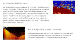 "Echomap™ Plus 64cv Garmin 6"" sin Transductor 15"