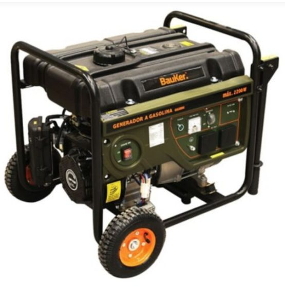 Generador 3,0 hp Gasolina Bauker 1