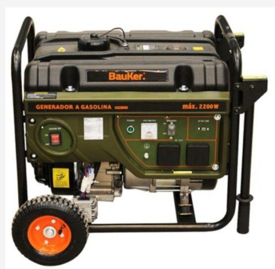 Generador 3,0 hp Gasolina Bauker 2