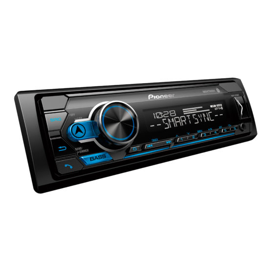 RADIO PARA AUTO + 4 PARLANTES PIONEER MXT-S3166BT 4