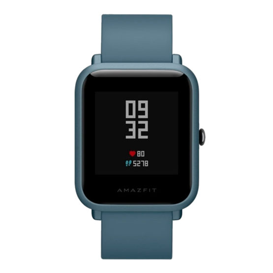 Reloj Inteligente Xiaomi Huami Amazfit Bit Lite A1915 5