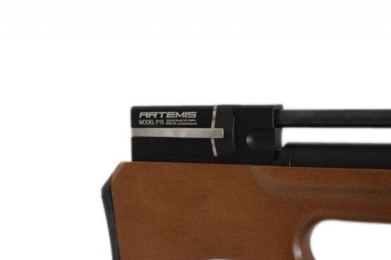 Rifle PCP Artemis P15 Cal. 6.35mm o Cal. 5.5 mm /8 Tiros Madera 3