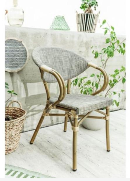 Silla de Jardin Milano Just Home Collection 6