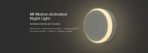 Sensor de Luz + Detección por Infrerrojos Xiaomi Mi Motion-Activated Night Light 24