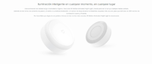 Sensor de Luz + Detección por Infrerrojos Xiaomi Mi Motion-Activated Night Light 25