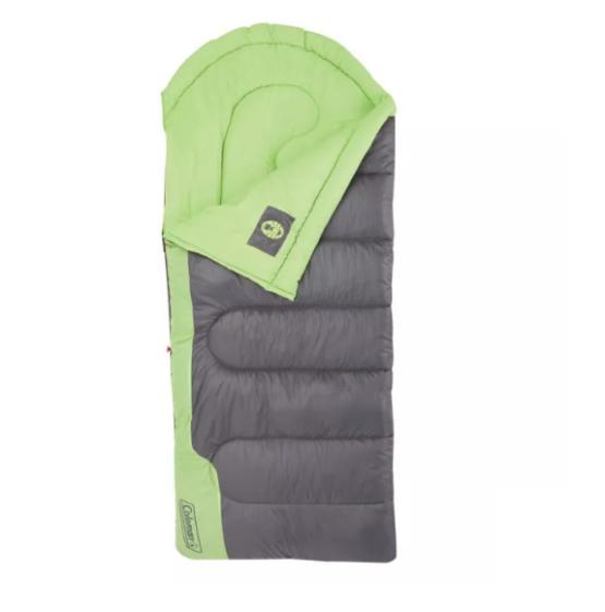 Sobre de Dormir Coleman® Raymer™ 40° grados - Verde / Gris 2