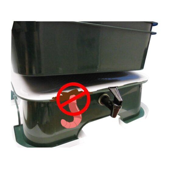 Compostera de 5 Bandejas Vermihut Plus Vermitek 6