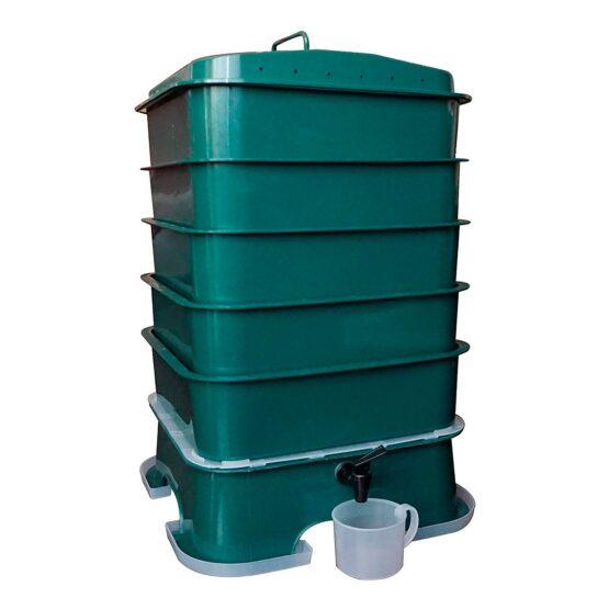 Compostera de 5 Bandejas Vermihut Plus Vermitek 1