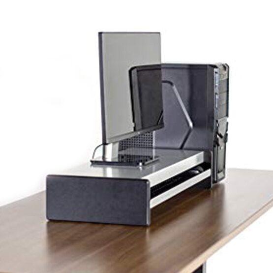 Soporte Para Monitores o Impresoras Vivo Steel Stand Stand-V000N 4