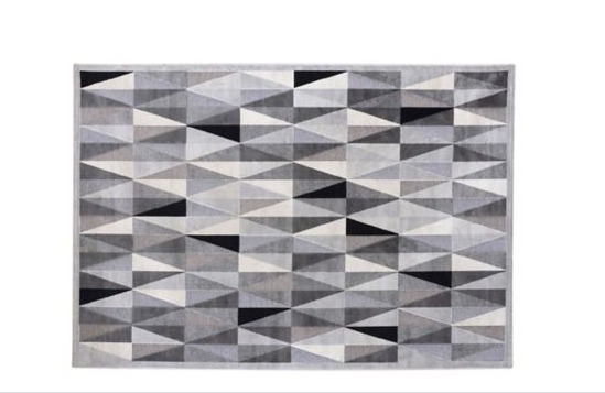 Alfombra Seychelles gris 160 x 235 cm Just Home Collection 1