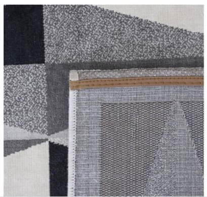 Alfombra Seychelles gris 160 x 235 cm Just Home Collection 3