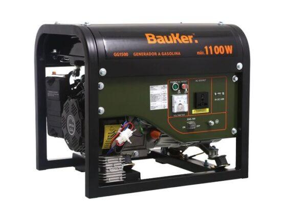 Generador 1,5 hp Nafta Bauker 1