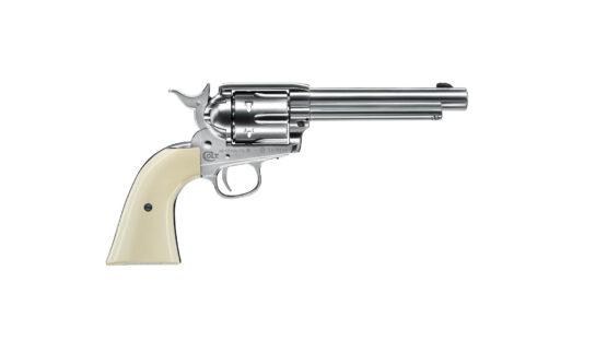 Revolver CO2 4.5mm Colt SAA .45 Plateado 3