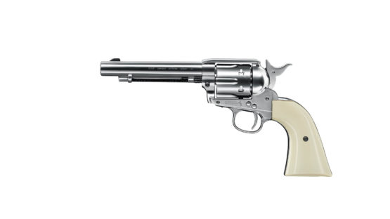 Revolver CO2 4.5mm Colt SAA .45 Plateado 1