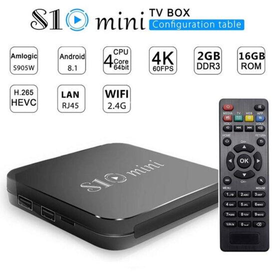 S10 MINI TV BOX 1