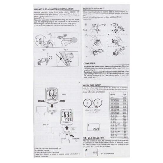 Velocimetro para Ciclista JR-BC18 4