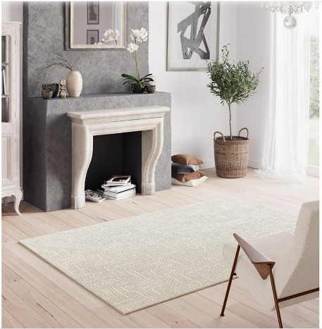 Alfombra Fly 160 x 230 cm Gris Just Home Collection 2
