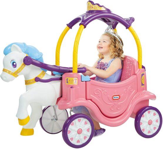 Carruaje de Princesa a Caballo con Portavasos Little Tikes 2
