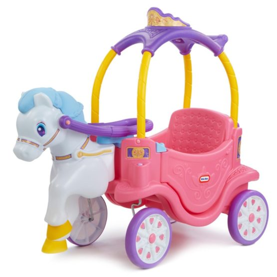 Carruaje de Princesa a Caballo con Portavasos Little Tikes 1