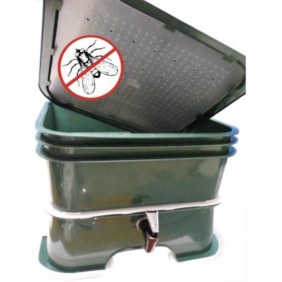 Compostera de 3 Bandejas Vermihut Plus Vermitek 5