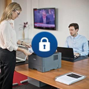 Impresora Laser Empresarial Brother HL5100 con Conectividad 9