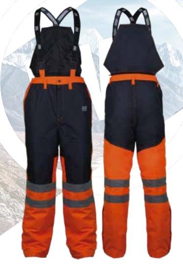 Pantalon Termico T/Jardinero 100% Poliester Hardwork Siberia 2
