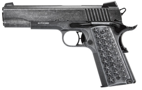 PISTOLA CO2 SIG SAUER 1911 WE THE PEOPLE BB CO2 CAL. 4.5 1