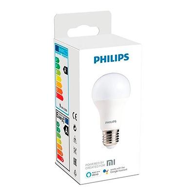Pack de 2 Bombitas Led Inteligentes Philips Wifi Bulb E27 White 9W 3