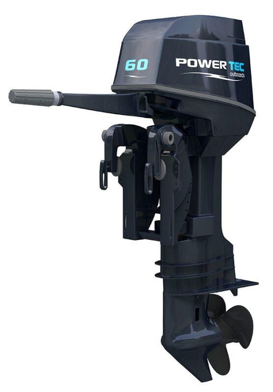 Motor Fuera de Borda Powertec 60 HP de 2T PL 1