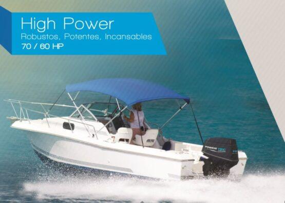 Motor Fuera de Borda Powertec 60 HP de 2T PL 2