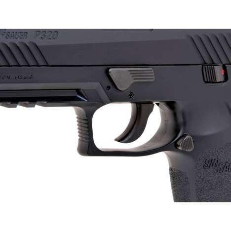 Pistola CO2 Sig Sauer P320 Blowback Negra 2