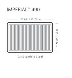 Barbacoa a Gas Broil King Imperial 490 Empotrables con Gabinete 10