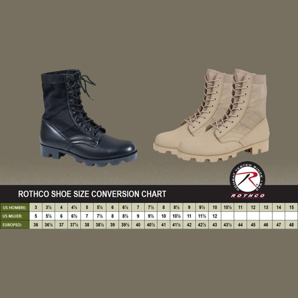 """Botas Tacticas Rotcho V-Max Lightweight 8,5"""" 6"""