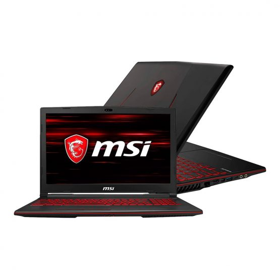 "Notebook Msi Gaming GL63 9SC-063 15,6""/ I5/ 8Gb/ 512Gb REFA 1"