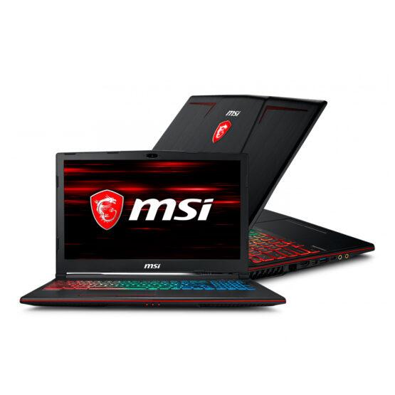 NOTEBOOK MSI GAMING GP63 LEOPARD 8RE I7 / 16 GB / 256 GB 1
