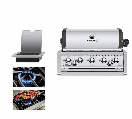 Barbacoa a Gas Broil King Imperial 590 Empotrable 1