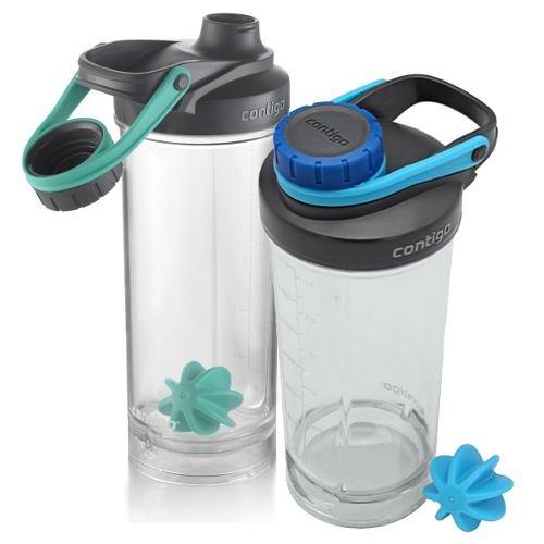 Botella Tritan Contigo 828ml Shake & Go® Fit Shaker 1