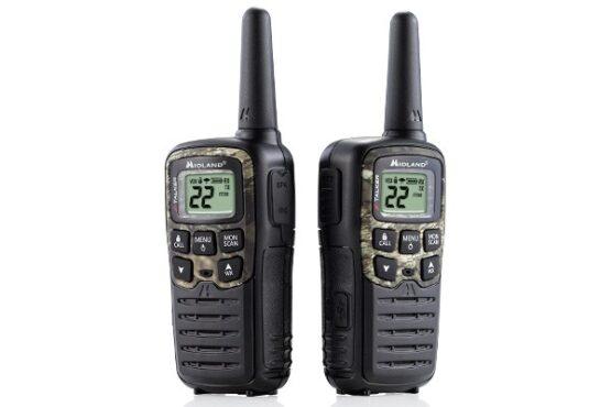 2 Radios Walkie Talkie Midland 22 Canales T55 1