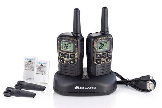 2 Radios Walkie Talkie Midland 22 Canales T55 6