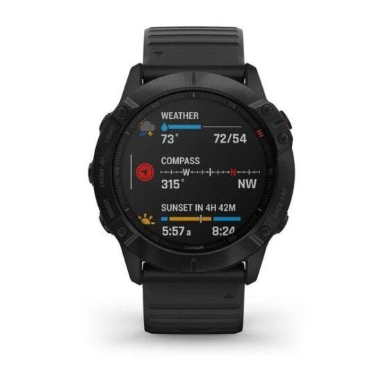 Reloj Garmin Fenix 6x Pro Multideporte con Gps 2