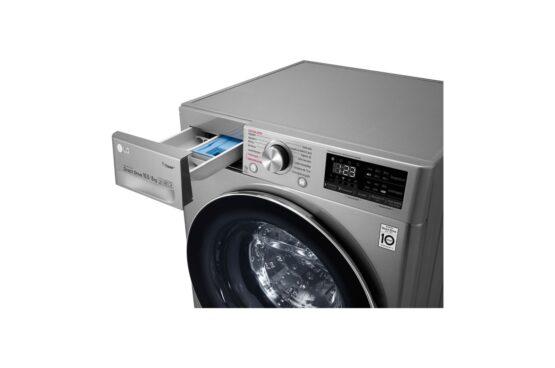 Lavasecarropas Frontal Lg 10,5Kg Color Inox Modelo: WD10VVC4S6C 2