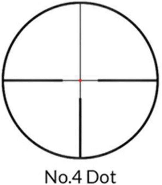 Mira Telescopica Nikko Stirling Diamond 2.5-10X50 Saddle Switch Illu NO. 4 Dot 4