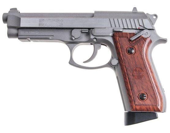 Pistola de Aire Cybergun Swiss Arms SA92 Blow Back 4,5 mm Metal 4