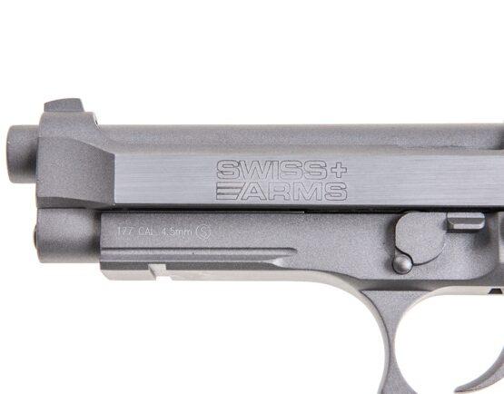Pistola de Aire Cybergun Swiss Arms SA92 Blow Back 4,5 mm Metal 2