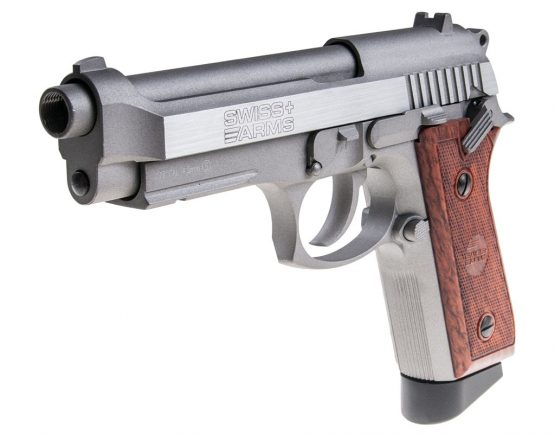 Pistola de Aire Cybergun Swiss Arms SA92 Blow Back 4,5 mm Metal 1