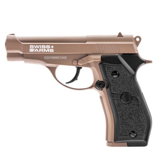 Pistola de Aire Swiss Arms P84 Full Metal 4.5mm Cybergun Tan 1