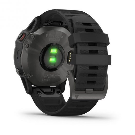 Reloj Garmin Fenix 6 Zafiro Multideporte con Gps 2