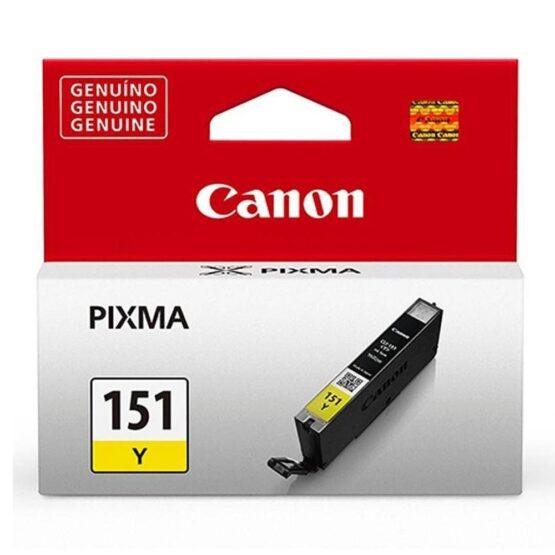 Cartucho de Tinta Canon CLI-151 Color Amarillo 7 Ml 1